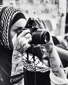 Kendyl Noor Aurora is a fully tattooed head-scarf wearing Muslim woman, and she isn't afraid to practice her faith while embracing her love of getting inked.