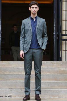 Arthur Gosse for the Officine Generale S/S15 show. #malemodel #menswear