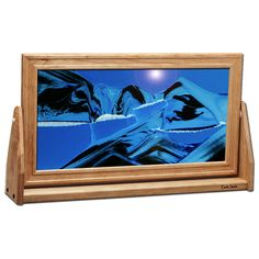 Moving Sand Picture 7 X 12 Arctic Glacier Clear Art Pictures In Motion A New With Every Turn Movin