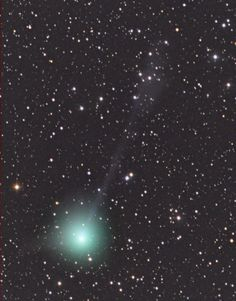Head Held High, Comet Lovejoy Does the Polar Plunge