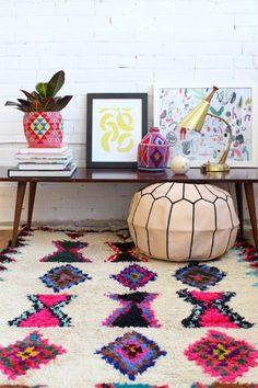 17 Rooms That Are Nailing the Desert-Chic Decor Trend This Winter via Brit + Co Deco Boheme, Estilo Boho, Home And Deco, Home Decor Inspiration, Decor Ideas, Room Ideas, Home Design, Design Blog, Studio Design