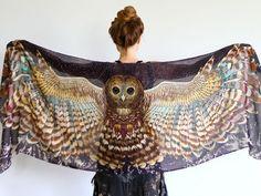 Etsy Spotlight: Owl Scarves For Your Inner Nature-Loving Hippie Goddess