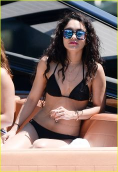 Vanessa Hudgens & Sister Stella Take Girls Trip to Miami