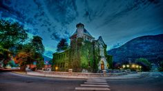 Courthouse in Nelson British Columbia West Coast Canada, Places To Travel, Places To Visit, Vancouver City, Canada Eh, Western Canada, Nature View, World Pictures, Rest Of The World