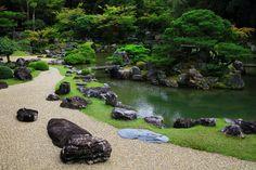 Ikeizumi jardín de Sanbanin