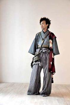 Yaya Kimono wear for men - love this trouser style