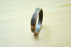Mens wedding Band textured mens ring size 10 and other