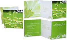 Einladungskarten+-+Sommer,+Sonne,... Invitation Cards, Sun