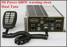 America Design Hi-Power 600W Police Siren Warning Amplifiers Alarm With Microphone For Police Ambulance Fire(without Speaker) |  Buy online America design Hi-Power 600W police siren warning amplifiers alarm with microphone for police ambulance fire(without speaker) only US $149.99 US $149.99. We give you the discount of finest and low cost which integrated super save shipping for America design Hi-Power 600W police siren warning amplifiers alarm with microphone for police ambulance…
