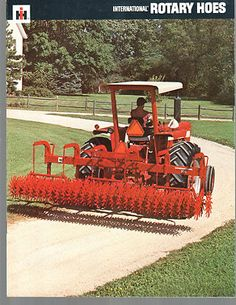 1971 IH International Tractor Rotary Hoes 300 224