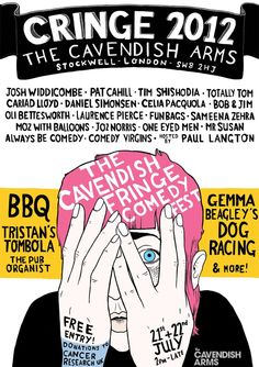 /// Cringe 2012 is a two day festival of comedy at the Cavendish Arms, London, 21-22 July. All performances are free to watch