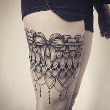 Resultado de imagem para tattoo garter