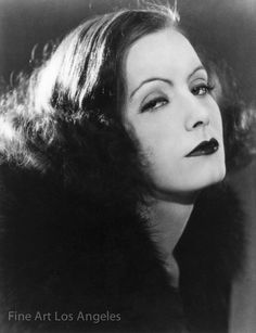 "Photo of Greta Garbo in ""The Mysterious Lady"", 1928 MGM"