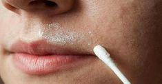 women face the problem with unwanted hair on the face, which can be very annoying and problem for their confidence. Therefore, those women use many options such as waxing, bleaching or even shaving to get rid of the unwanted hair. Diy Makeup, Makeup Tips, Unwanted Hair, Unwanted Facial, Upper Lip, Moustaches, Clean Face, Grow Hair, Facial Hair