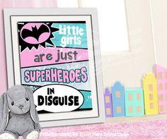 Superhero Girl Giant Wall Decals Superhero Wall Decals And - Girl superhero wall decals