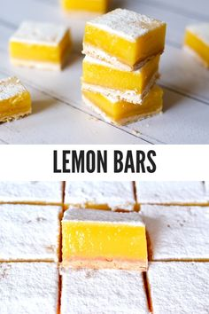 No Bake Desserts, Dessert Recipes, Baking Recipes, Cookie Recipes, My Favorite Food, Favorite Recipes, Lunch Catering, Lemon Bars, Cakes And More