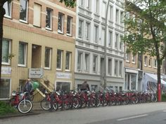 Bikes for Rent. Hamburg, Germany