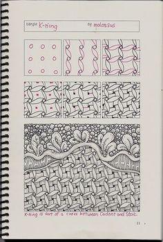 Tangles: Art Ideas for Upper Grades | Squarehead Teachers