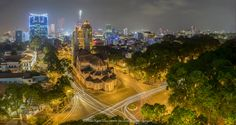 nhàThoDucBa -Immaculate Conception Cathedral Basilica - Cathédrale Notre-Dame de Saïgon by ThoPNT (Phan Ngọc Thọ) on 500px