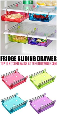 Clever Kitchen Hacks and Gadgets that will change your life! - These 35 Kitchen Organization Ideas are AMAZING! Must see them all. PIN IT NOW and use them later!: