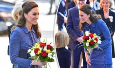 THE Duchess of Cambridge wore an old favourite Rebecca Taylor blue suit to the opening of a new £13 million home away from home for the families of children undergoing hospital treatment today.