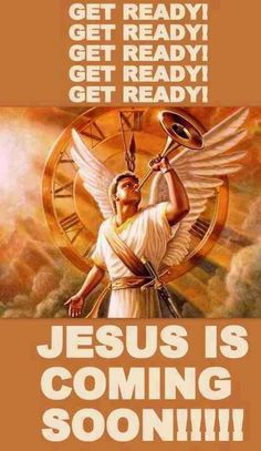 Yes!!!! Please come quickly King Jesus!!!!