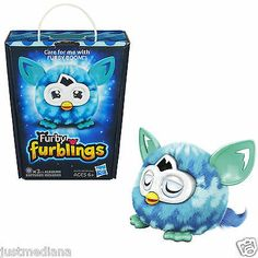 NEW Furby Furbling Plush Adorable Creature Blue Waves - F/S - Age 6+