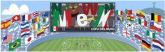 Final de la Copa del Mundo Brasil 2014 – Doodle