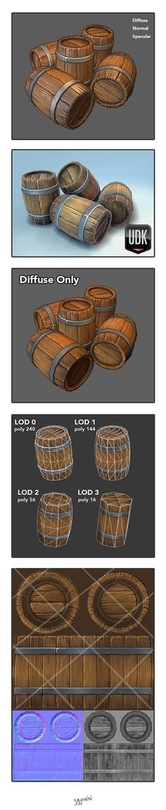 Beautiful stylized texture for this Barrel.
