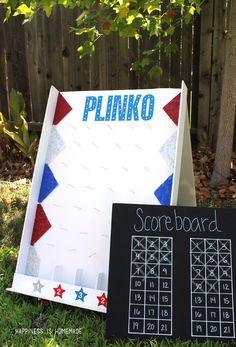 Foam Core Plinko Game Board