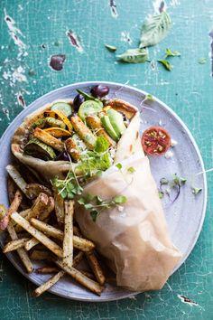 Grilled Zucchini Gyros with Sun-Dried Tomato Tzatziki | halfbakedharvest.com @Half Baked Harvest