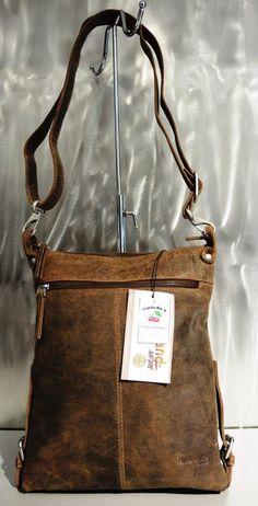 Umhängetasche aus Büffelleder (L 27 x H 32 x B 08cm) erhältlich bei Kirsche's Taschen und mehr...! in Bad Vöslau www.kirsches.at