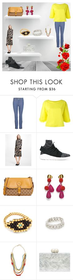 """""""For the Fashion"""" by mkrish ❤ liked on Polyvore featuring Alexander McQueen, Tsumori Chisato, Brooks Brothers, adidas Originals, Lizzie Fortunato, Dodo Bar Or, Shay, Emily & Ashley and Ashlyn'd"""