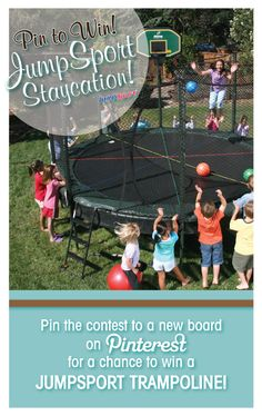 I could use a Jumpsport Trampoline as my kids really need something in the yard to play with!  #JumpSportStaycation