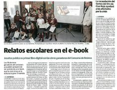 Presentación libro relatos Jesuitas Logroño.