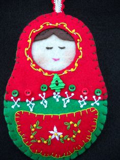 Christmas matryoshka