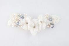 There's no thing that can compliment a #bridal look better than a well made #accessory. Take a look at ours on www.mscarves.ro.