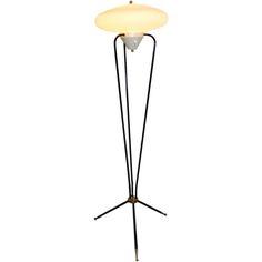 60's Stilnovo Floor Lamp