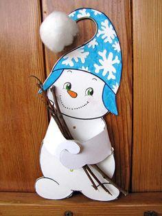 bonhomme de neige décoration