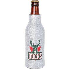 Milwaukee Bucks Glitter Bottle Cooler - $5.69