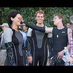 The Hunger Games Igrzyska Śmierci Catching Fire W Pierścieniu Ognia behind the scenes za kulisami