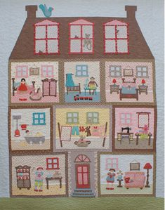 This has to be the cutest quilt ever! Love Rosalie Quinlan.