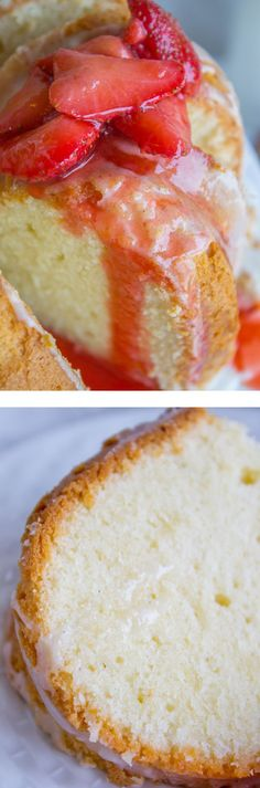 Cream Cheese Pound Cake from The Food Charlatan. This is the BEST pound cake…