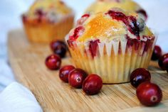 I got crazy last night. I threw on my comfiest sweats, poured m'self a glass of wine or three, and whipped up some Apple Cranberry Muffins for th...