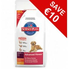 For a limited time get Hills Science Plan Advanced Fitness Adult Large Breed with Chicken for less! Save while stocks last Dog Food Recipes, Your Pet, Science, Foods, How To Plan, Chicken, Fitness, Food Food, Food Items