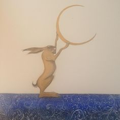 """Jackie Morris """"I am the hare who plays with the moon"""""""