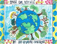 arbor day poster - Google Search