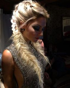 Very beautiful fishtail braids that you will love – Latest hairstyles - Hair Models Love Hair, Gorgeous Hair, Beautiful Braids, Pretty Hairstyles, Braided Hairstyles, Viking Hairstyles, Updo Hairstyle, Everyday Hairstyles, Hairstyle Ideas