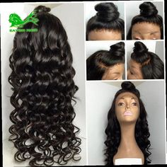 54.71$  Buy now - http://alivyz.worldwells.pw/go.php?t=32565789760 - full lace human hair wigs for black women brazilian body wave glueless full lace wigs bleached knots lace front human hair wigs 54.71$