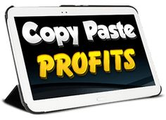 Copy Paste Profits Review $73,000 & HUGE DISCOUNT - http://reviewhunger.com/copy-paste-profits-review/